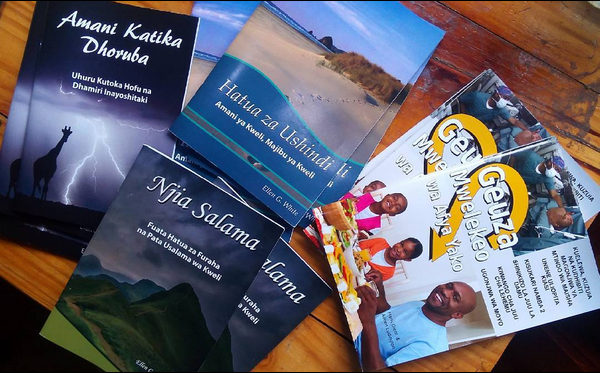 New Swahili Books – Selling out fast!