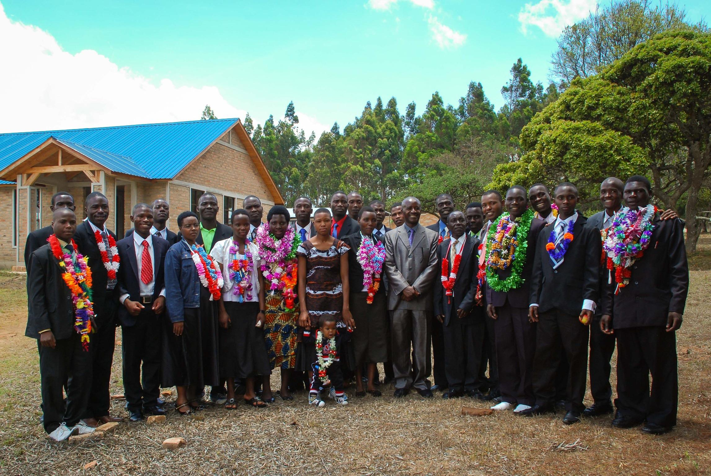 Graduation of Evangelism School Students (Session 2, 2014)