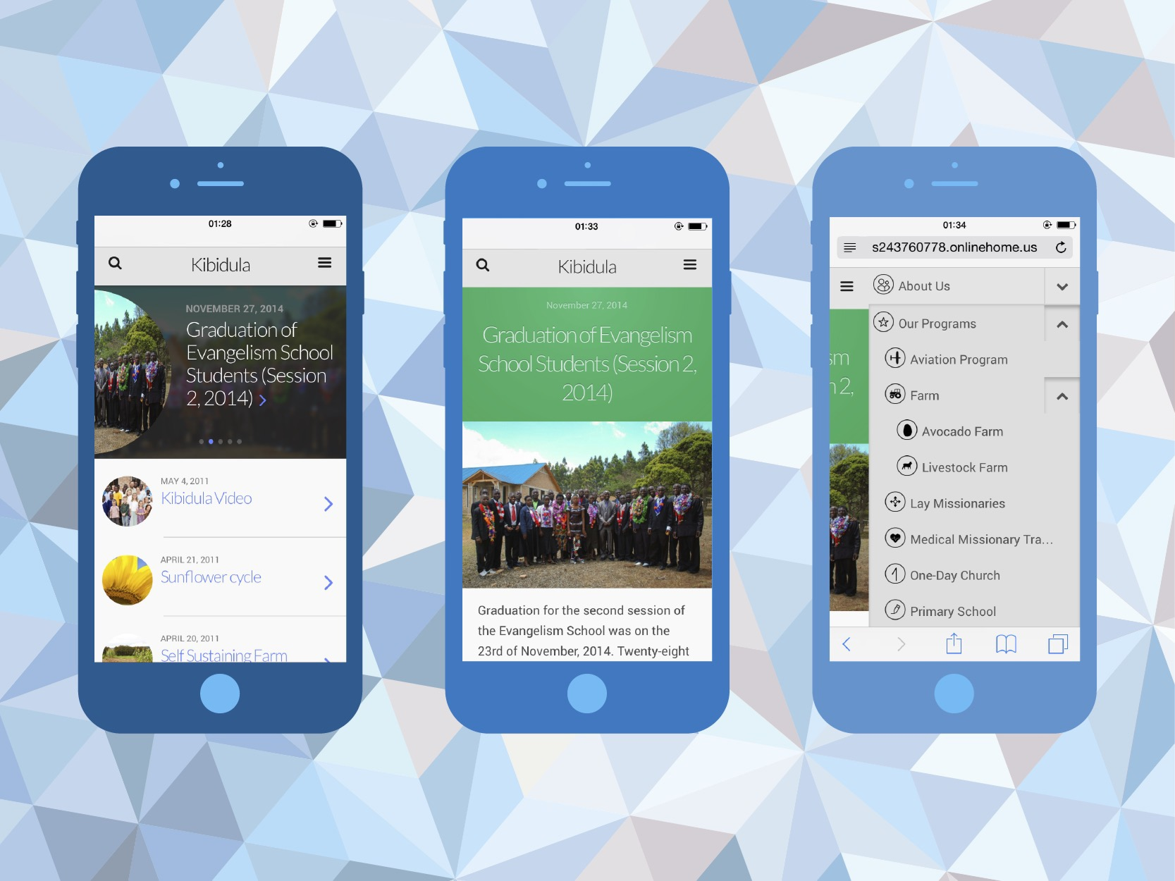 New Mobile Website Version